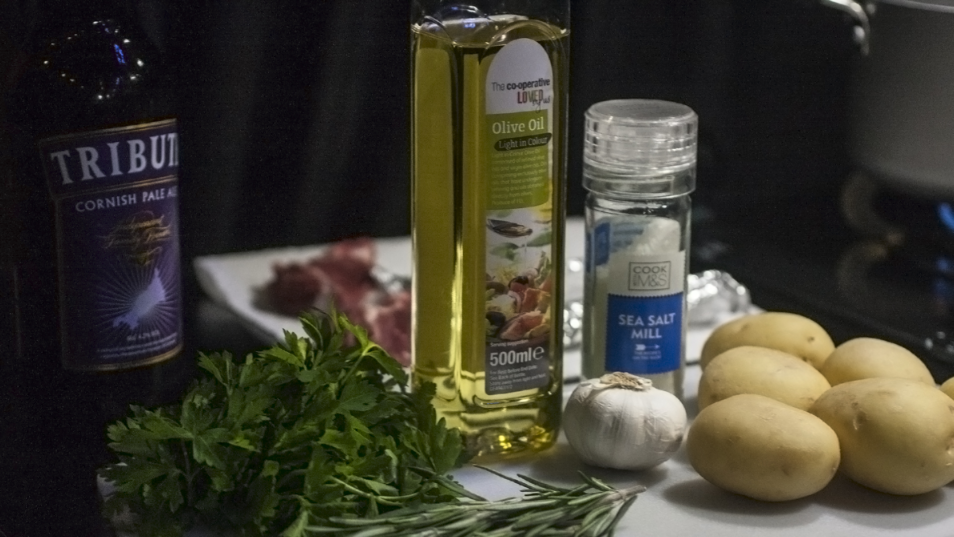 Lamb Cutlets - Ingredients